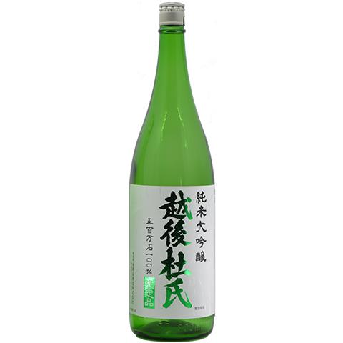 【数量限定】金鵄盃酒造 越後杜氏純米大吟醸 1800ml